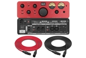 SPL Phonitor x | Headphone Amplifier and Preamplifier (Red)