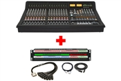 SSL Matrix 2 | 16 Channel Mixing Console with Patchbay & Cabling Package
