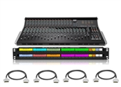 SSL XL-Desk Patchbay & Cabling Package