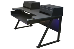 Sterling Modular Silhouette Stand Desk 61 Keys - Black