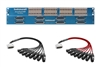 Configure Your Own Switchcraft 6425 | 64 Point TT & DB25 Patchbay with Custom Mogami & Neutrik Gold Cabling
