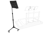 Triad Orbit Rolling Monitor Stand System