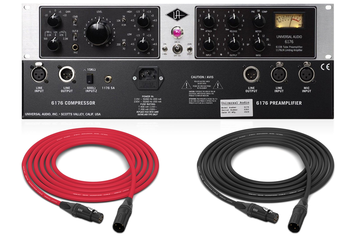 Universal Audio 6176 | Tube Mic Pre + 1176 Compressor