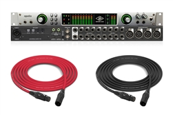 Universal Audio Apollo QUAD | FireWire Interface w/ Custom Mogami & Neutrik Cables