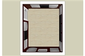 Vicoustic Cinema Round Premium & Wavewood Room Kit | 100 Square Feet | 26 Panels Total (Light Grey + Wenge)