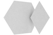 Vicoustic Mini Vixagon VMT with Diamond Shapes | Box of 36 + 36 (Natural White)