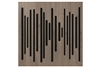 Vicoustic VicPattern Ultra Wavewood | Absorption Panel | Box of 3 (Brown Oak)