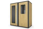 Vicoustic VicBooth Ultra Practice Room | Natural Oak