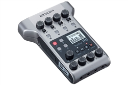 Zoom PodTrak P4 | Portable Multitrack Podcast Recorder