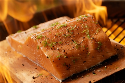 Cedar Planked Salmon 6oz