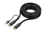 50' (15M) Titan Certified HDMI Cable 4Kx2K, UHD, HDR, 18Gbps