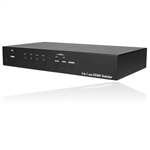 4 Input 1 Output HDMI Switcher (3D) with Optional RS232 Control