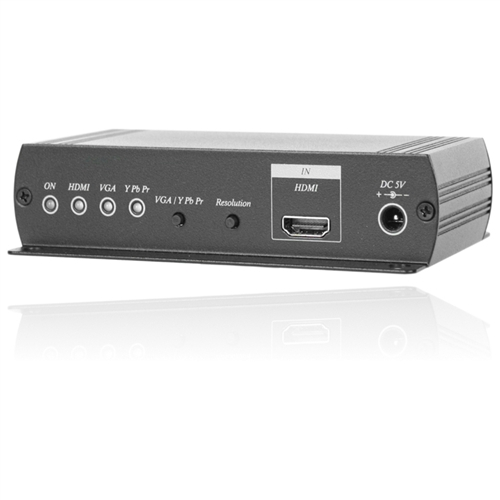 hdmi to vga or component output converter