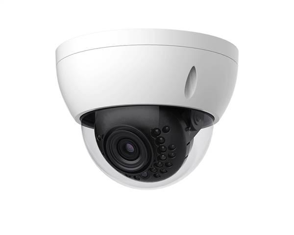 4MP WDR IP Mini-Dome Camera, 2.8mm Lens, P2P, PoE