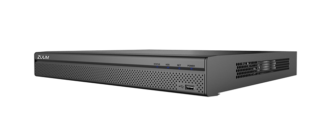 16 Channel 1U, 16PoE, 4K, H.265+, Network Video Recorder (No HDD)