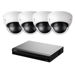 4 Channel NVR (1TB) with (4) 4MP IP Camera Kit