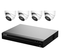 4 Channel NVR (1TB) with (4) LSE4MPS2-IP-2.8-IR30-WH (FIXED) Lens Kit