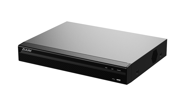 8 + 4 Channel Penta-brid 4K Video Recorder (8TB)