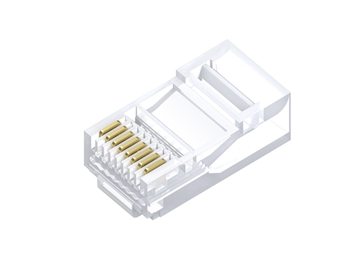 RJ45 Cat6 Modular Plug Solid (100 Pack)