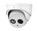 4MP WDR IR Eyeball Network Camera 2.8mm Lens w/Mic