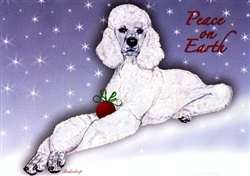 Poodle Holiday Cards