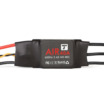 Air 40A 600Hz 2-6s (No BEC) ESC