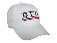 Beta Gamma Omicron Fraternity Bar Hat