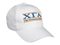 Chi Gamma Alpha Fraternity Bar Hat