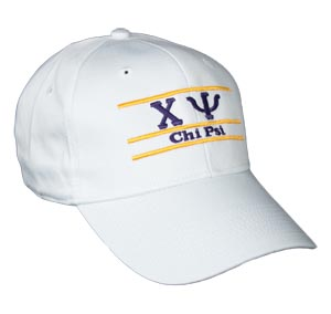 Chi Psi Fraternity Bar Hat