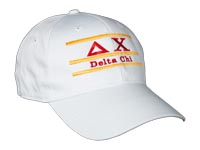 Delta Chi Fraternity Bar Hat