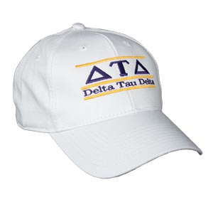 Delta Tau Delta Fraternity Bar Hat