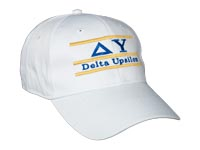 Delta Upsilon Fraternity Bar Hat