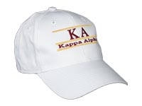 Kappa Alpha Fraternity Bar Hat