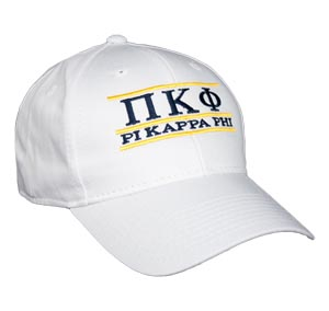 Pi Kappa Phi Fraternity Bar Hat