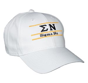 Sigma Nu Fraternity Bar Hat