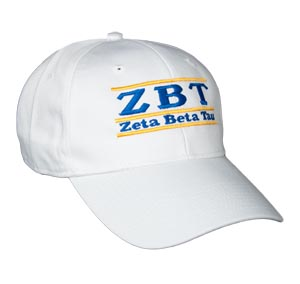 Zeta Beta Tau Fraternity Bar Hat