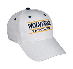 Michigan Hockey Bar Hat