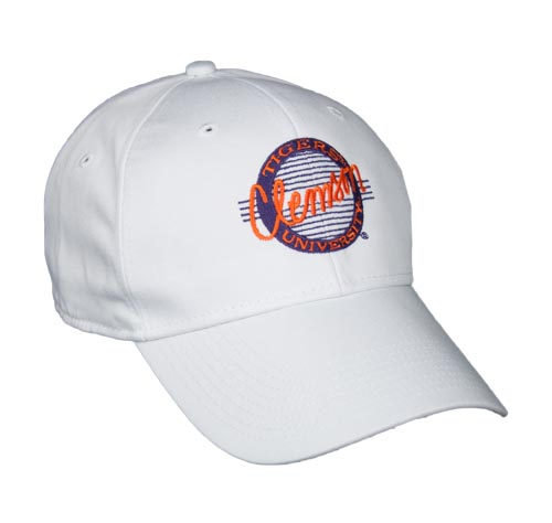 Clemson Snapback Circle Hats by The Game 59564480c5f