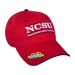 NC State Stretch-Fit Bar Hat