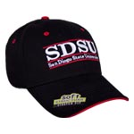 San Diego State Stretch-Fit Bar Hat