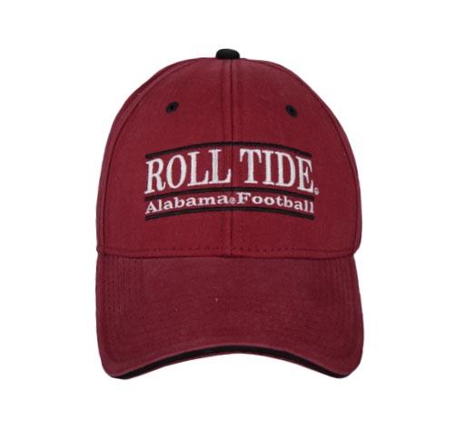 Alabama Crimson Tide Football Snapback Bar Hats by The Game b1ba5d4dba50