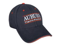 Auburn Tigers Football Bar Hat