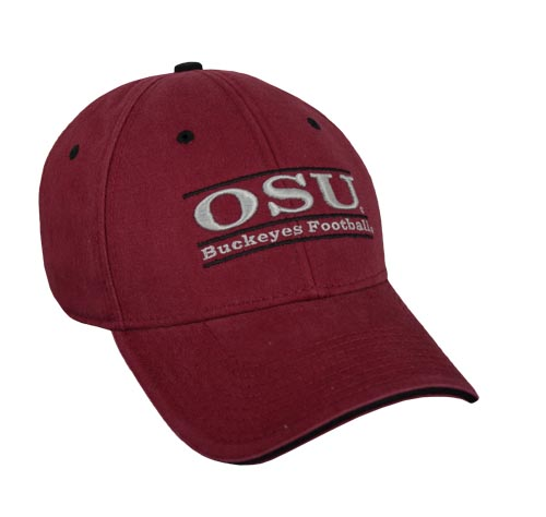 24c748a8ca4 Ohio State Buckeyes Football Snapback Bar Hats by The Game