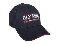 Ole Miss Rebels Football Bar Hat