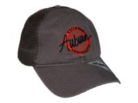 Auburn Trucker Mesh Circle Hat
