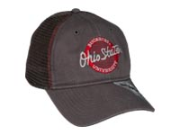 Ohio State Trucker Mesh Circle Hat