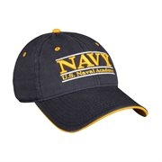 Naval Academy Soft Structure Bar Hat