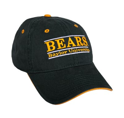Baylor Soft-Structured Bar Hat by The Game