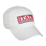 NC State Soft-Structured Bar Hat by The Game