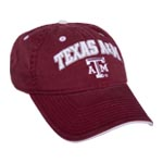Texas A&M Relaxed Fit College Logo Hats by The Game